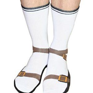 Sandalen Socken Römerlatschen Jesuslatschen Strümpfe Opa im Paar